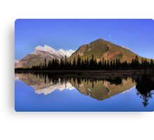 Mountain Reflections - Banff National Park, Alberta Canvas Print