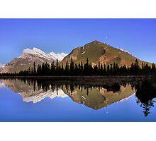 Mountain Reflections - Banff National Park, Alberta Photographic Print