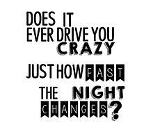 Night Changes by stillheaven