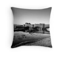 Ross Bridge in HDR & monochrome Throw Pillow