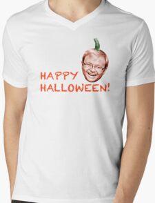 Kevin Rudd - Happy Halloween! Mens V-Neck T-Shirt