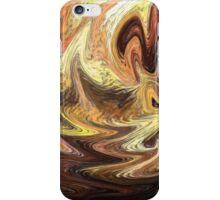 Terrestrial Brush Strokes  iPhone Case/Skin