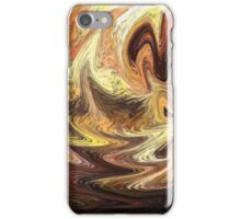 Terrestrial Brush Strokes  iPhone Case/Skin