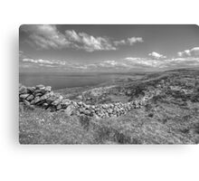 Black Head scenic view Canvas Print