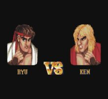RYU VS KEN - FIGHT! One Piece - Long Sleeve