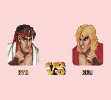 RYU VS KEN - FIGHT! Baby Tee