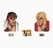 RYU VS KEN - FIGHT! Baby Tee