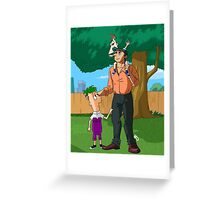 Cousin Perry Greeting Card