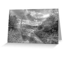 Scenic Burren Road Greeting Card