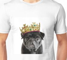 King Humphrey the Pug Unisex T-Shirt