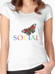 Social T Women's Fitted Scoop T-Shirt