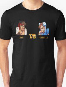 RYU VS CHUN LI - FIGHT! T-Shirt