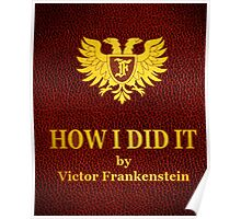 "Young Frankenstein ""How I did it"" Book Poster"