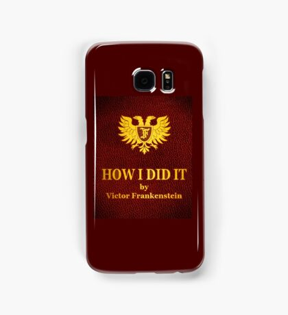 """Young Frankenstein """"How I did it"""" Book Samsung Galaxy Case/Skin"""