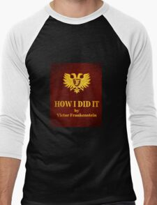 """Young Frankenstein """"How I did it"""" Book Men's Baseball ¾ T-Shirt"""