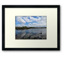 Reflections in the Burren, Mullaghmore Framed Print