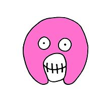The Mighty Boosh – Solid Pink Mask by PonchTheOwl