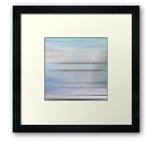 Moving Stillness #5 Framed Print