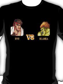 RYU VS BLANKA - FIGHT! T-Shirt