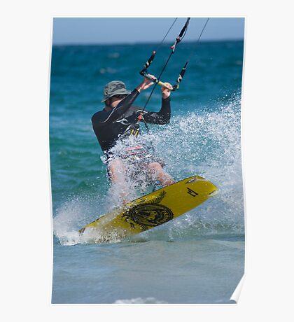 Kite Surfing! Poster