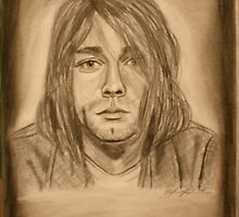 Kurt Cobain by essenn