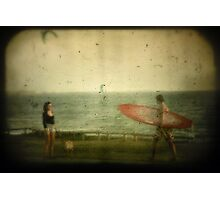 Girl Meets Boy..... Photographic Print