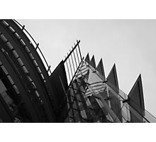 Black and white geometries Photographic Print
