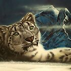 snow leopard  by carss66