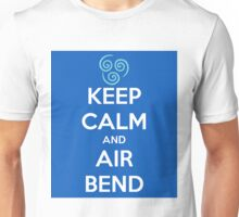 Keep Calm and Air Bend Unisex T-Shirt