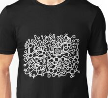 Abstract Structure - Black Unisex T-Shirt