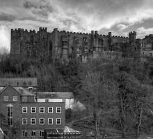 Durham Castle B&W by Tom Gomez