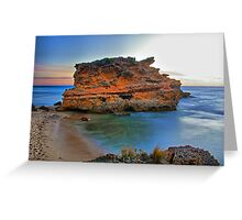 Red Rock HDR Greeting Card