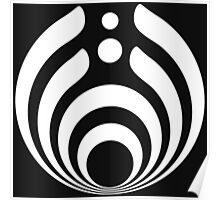 Bassnectar limited White logo Poster