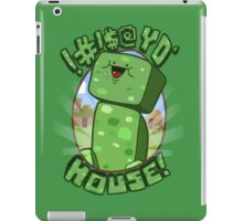 #!@$! yo' house! (Censored) iPad Case/Skin