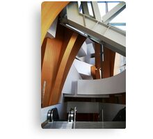 Converge, Disney Concert Hall, LA, USA Canvas Print
