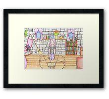 Prayerful Phoibe Framed Print