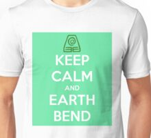 Keep Calm and Earth Bend Unisex T-Shirt