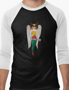 Hawkgirl Men's Baseball ¾ T-Shirt