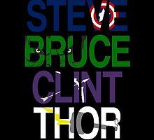 Avengers - 002 by chuckshurley