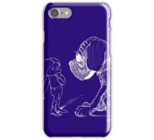 Who let the dog out, white iPhone Case/Skin