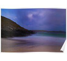 Meal Beach,Burra,Shetland Poster