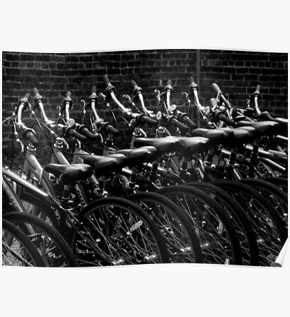 Alternative Mean Of Mass Transportation Poster