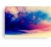 Inverted Clouds Canvas Print