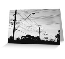 The dream that comes alive at night Greeting Card