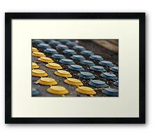 Solve This Puzzle: What Is This Mystery Object? Framed Print