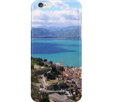 blue vista iPhone Case/Skin