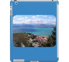 blue vista iPad Case/Skin