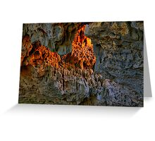 Fire In The Hole Greeting Card