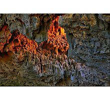 Fire In The Hole Photographic Print