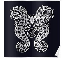Seahorses Deluxe  Poster